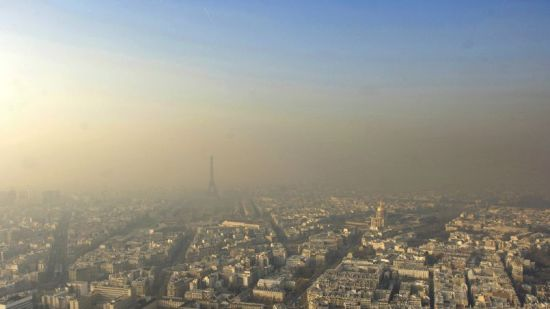 FRANCE-ENVIRONMENT-PARIS-POLLUTION