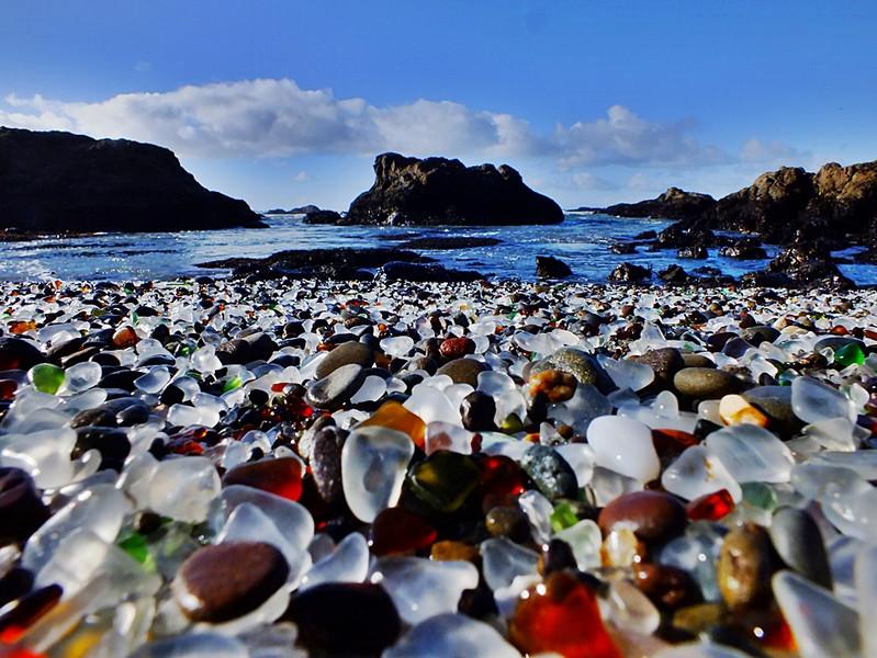 Un sable de verre issu de nos déchets modernes