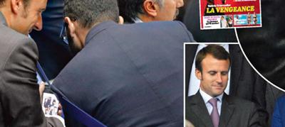 Macron más cerca