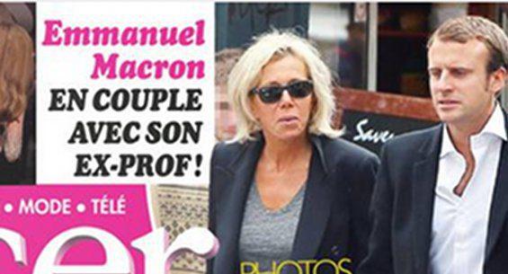 Eng People Emmanuel And Brigitte Macron A French Romance