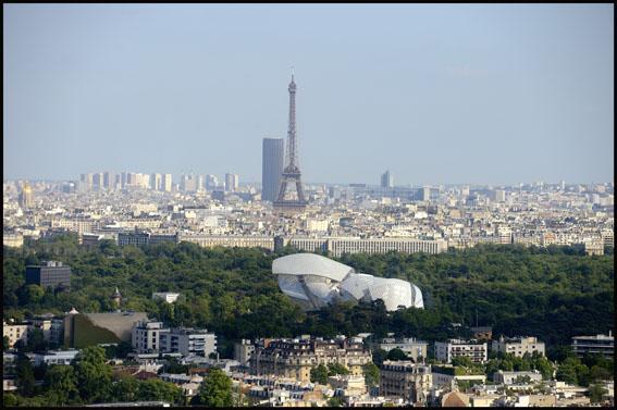 Paris: Tour Eiffel, tour Montparnasse et fondation Louis Vuitton