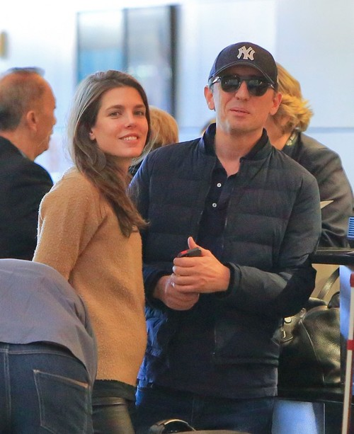 Charlotte-Casiraghi-LAX-airport