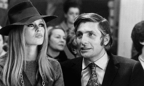 Brigitte Bardot and Gunter Sachs