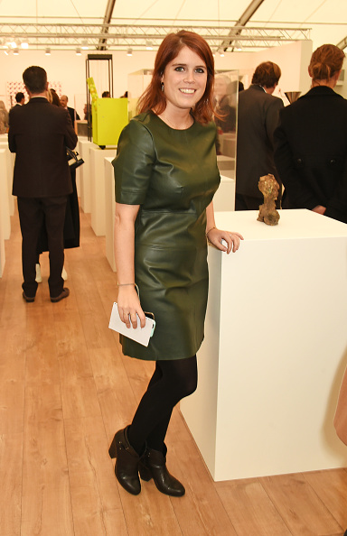 LONDON, ENGLAND - OCTOBER 13: Princess Eugenie of York attends a VIP preview of the Frieze Art Fair 2015 in Regent's Park on October 13, 2015 in London, England. (Photo by David M. Benett/Dave Benett/Getty Images)