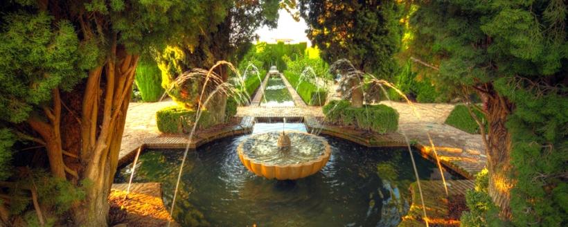 Grenade, Jardin de l'Alhambra