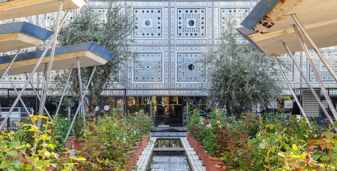 Jardin expo jardins d orient l institut du monde arabe for Expo jardin paris