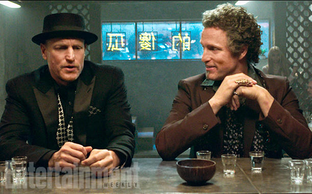 NOW YOU SEE ME 2 (2016) Caption: Merritt McKinney (Woody Harrelson, left) and Chase McKinney (Woody Harrelson, right)