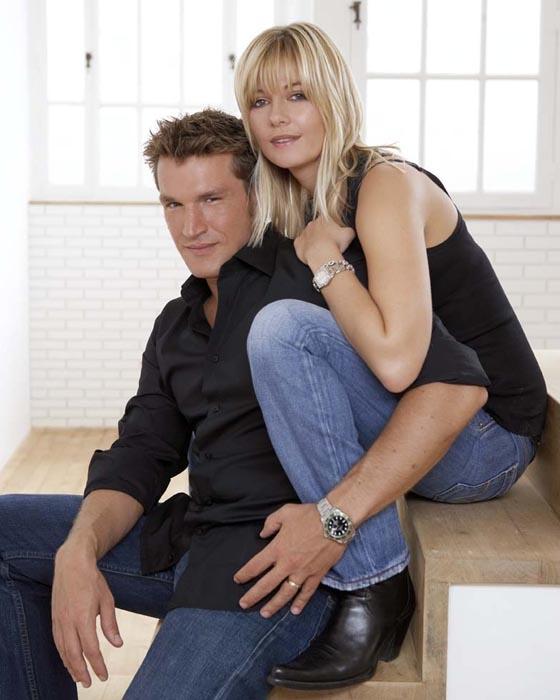Pierre Sled et Sophie Davant Deauville , septembre 2004